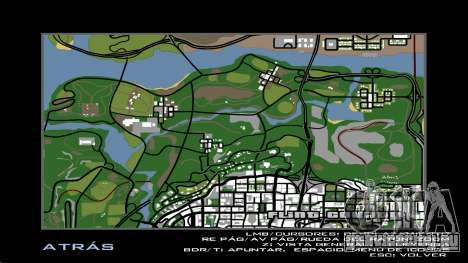 HD радар карта для GTA San Andreas пятый скриншот