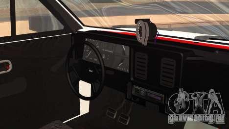 Chevrolet Chevette SLE 88 для GTA San Andreas вид справа