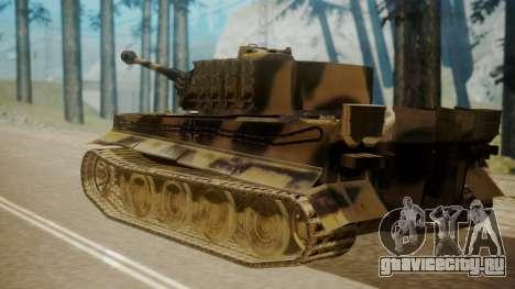 Panzerkampfwagen VI Tiger Ausf. H1 для GTA San Andreas вид слева