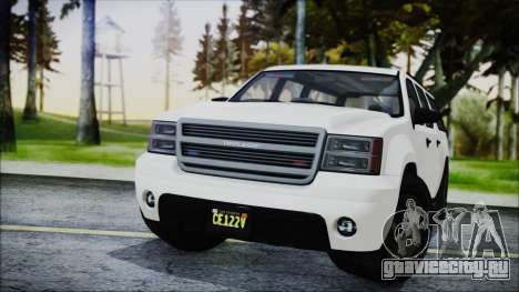 GTA 5 Declasse Granger FIB SUV для GTA San Andreas