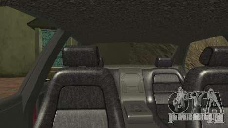 Sentinel PFR HD v1.0 для GTA San Andreas вид сбоку