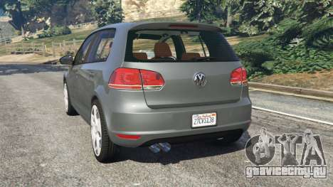 Volkswagen Golf Mk6 v2.0 для GTA 5