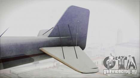 GTA 5 Duster для GTA San Andreas вид сзади слева