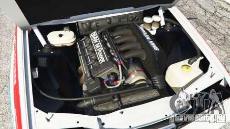 BMW M3 (E30) 1991 [Z5] v1.2 для GTA 5 вид сзади справа