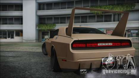 Dodge Challenger Daytona для GTA San Andreas вид слева