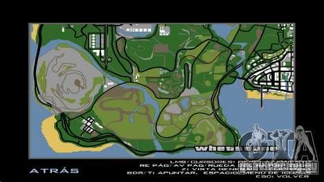 HD радар карта для GTA San Andreas четвёртый скриншот
