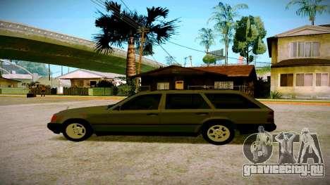 Merсedes-Benz E200 W124 для GTA San Andreas вид слева