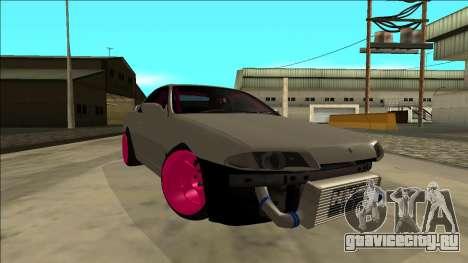 Nissan Skyline R32 Drift для GTA San Andreas вид изнутри
