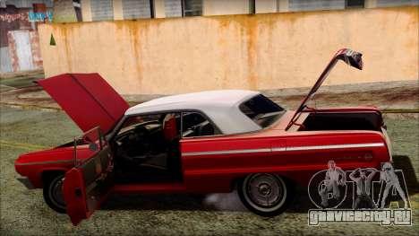 Chevrolet Impala SS 1964 Final для GTA San Andreas колёса