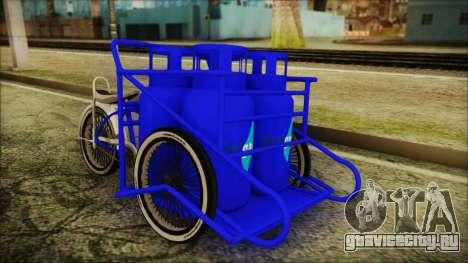 Bici Colgas для GTA San Andreas вид справа