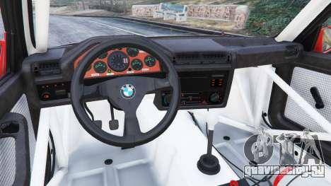 BMW M3 (E30) 1991 [Nalan] v1.2 для GTA 5 вид справа