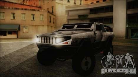 Hummer H2 C.E.L.L. Crysis 2 для GTA San Andreas
