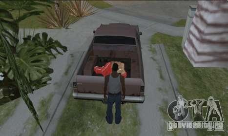 Таскать труп для GTA San Andreas третий скриншот