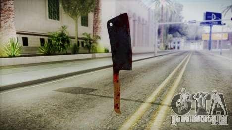 Helloween Butcher Knife Square для GTA San Andreas второй скриншот