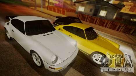 RUF CTR Yellowbird (911) 1987 HQLM для GTA San Andreas вид слева