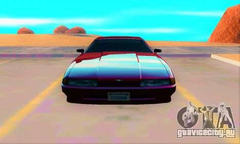 Elegy From Life для GTA San Andreas вид сзади