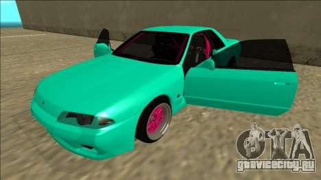 Nissan Skyline R32 для GTA San Andreas вид снизу