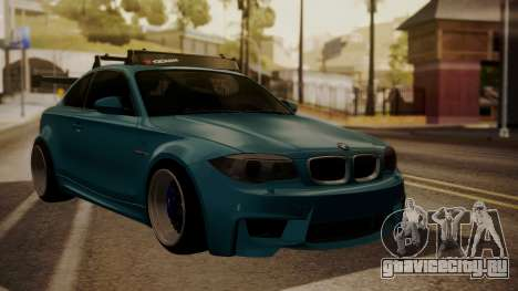 BMW 1M E82 with Sunroof для GTA San Andreas