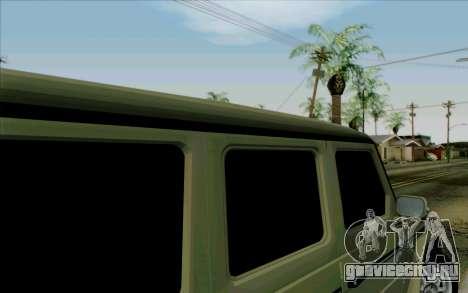 Mercedes-Benz G500 1999 для GTA San Andreas вид сбоку
