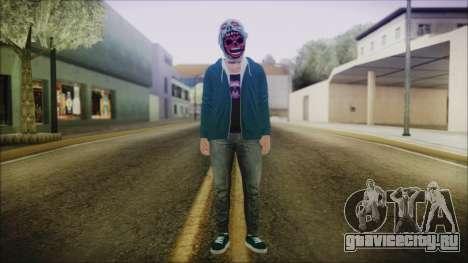 DLC Halloween GTA 5 ZombieCraneo для GTA San Andreas второй скриншот