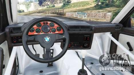 BMW M3 (E30) 1991 [Kings] v1.2 для GTA 5 вид справа