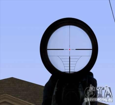 Sniper Scope v2 для GTA San Andreas седьмой скриншот