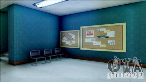 New Interior for SFPD для GTA San Andreas восьмой скриншот