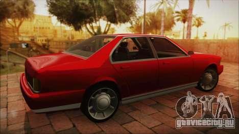 Sentinel PFR HD v1.0 для GTA San Andreas вид слева