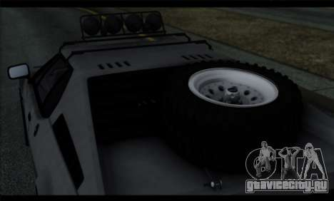 BMW M1 E26 Rusty Rebel для GTA San Andreas вид сбоку