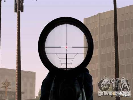 Sniper Scope v2 для GTA San Andreas пятый скриншот