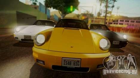 RUF CTR Yellowbird (911) 1987 HQLM для GTA San Andreas