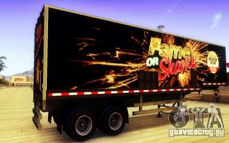 Мод для GTA Славы или позора трейлер для GTA San Andreas вид слева