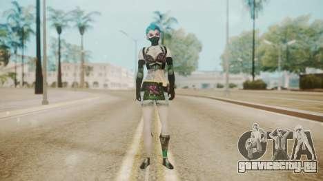 Jinxed Akali для GTA San Andreas второй скриншот