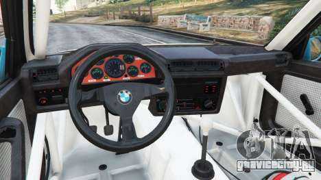 BMW M3 (E30) 1991 [Jeschke] v1.2 для GTA 5 вид справа