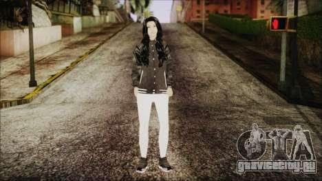 Home Girl White Pants для GTA San Andreas второй скриншот