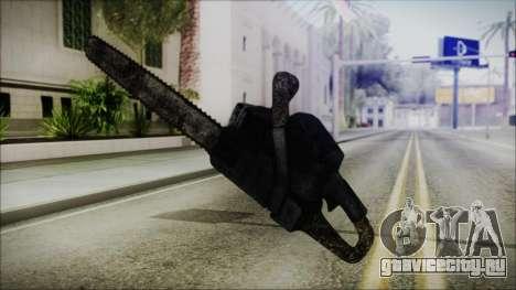 Helloween Chainsaw для GTA San Andreas третий скриншот