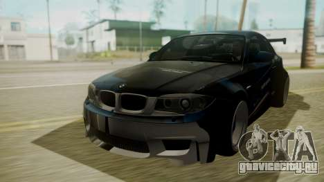 BMW 1M E82 without Sunroof для GTA San Andreas вид сверху