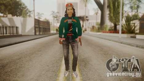 Home Girl Cat для GTA San Andreas второй скриншот