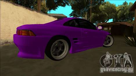Toyota MR2 Drift для GTA San Andreas вид изнутри
