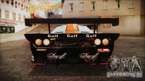McLaren F1 GTR 1998 для GTA San Andreas вид сбоку