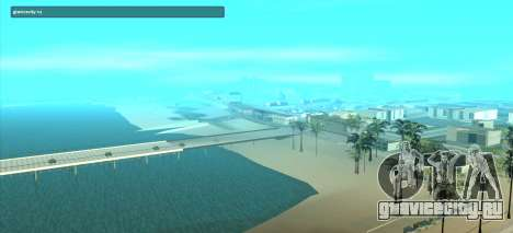 SampGUI Violet для GTA San Andreas второй скриншот