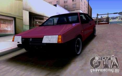 Ваз 2108 V2 для GTA San Andreas вид снизу