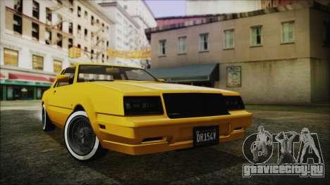 GTA 5 Willard Faction Custom Bobble Version IVF для GTA San Andreas