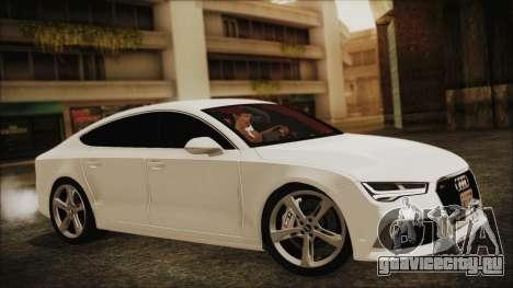 Audi RS7 Sportback 2015 для GTA San Andreas вид справа