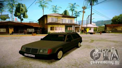 Merсedes-Benz E200 W124 для GTA San Andreas