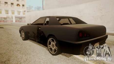 Elegy FnF Skins для GTA San Andreas вид сбоку