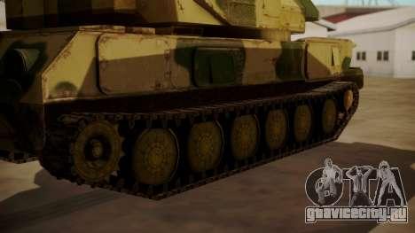 ZSU-23-4 Shilka для GTA San Andreas вид сзади слева