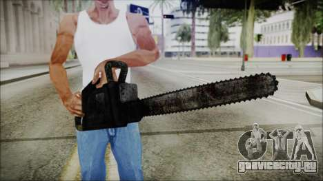 Helloween Chainsaw для GTA San Andreas