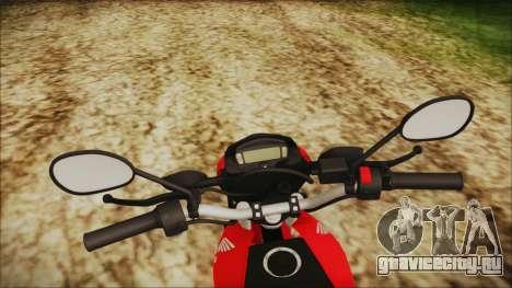 Honda Bros 160 2015 для GTA San Andreas вид справа