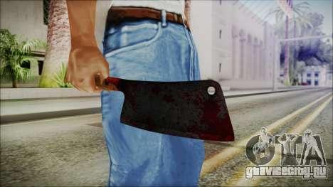 Helloween Butcher Knife Square для GTA San Andreas третий скриншот